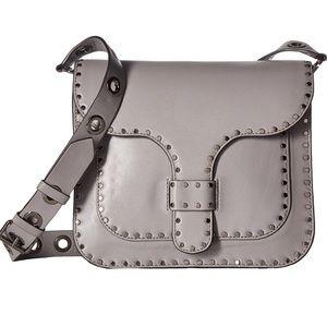 Rebecca Minkoff Grey Large Midnighter Studded Bag